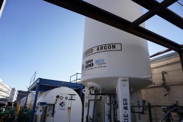 liquid argon bulk tank